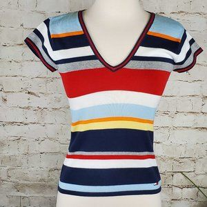 Tommy Hilfiger Stripe Sweater S  EUC
